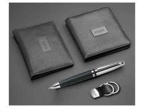 Набор Ferre (Джанфранко Ферре): портмоне, футляр для кредитных карт, шариковая ручка, брелок купить