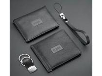 Набор Ferre (Джанфранко Ферре): портмоне с зажимом для денег, футляр для кредитных карт, брелок и ремешок для мобильного телефона купить